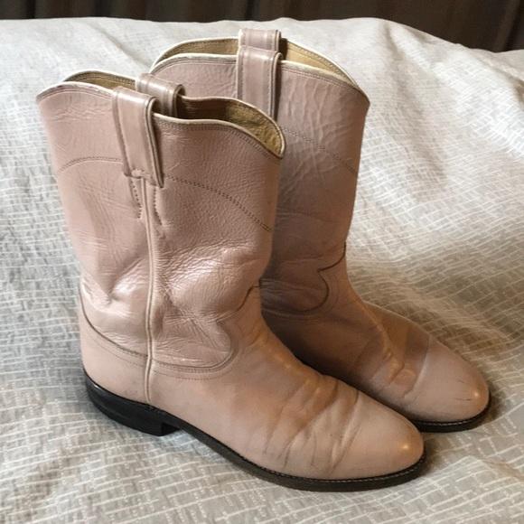 Justin Stiefel Schuhes   Cowboy Justin Light Pink Pearl Cowboy  Western Work 663def